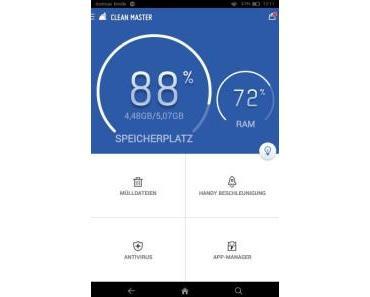 Systemoptimierungs-App Clean Master getestet