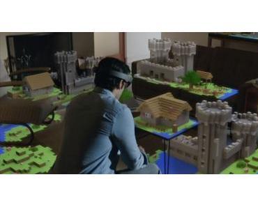 Microsoft's Hololens war ausschlaggebend für den Minecraft Kauf