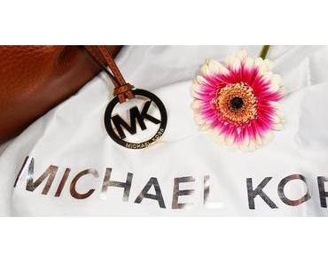 "I Love my -  Michael Kors ""Bedford LG Shoulder Tote Luggage"""