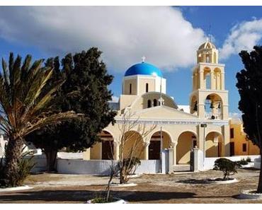 Sankt Georg • Der Pfannkuchenesser • Erzählung aus Santorin