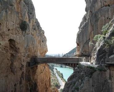 Zwischen Schlucht und Fels auf dem Caminito del Rey