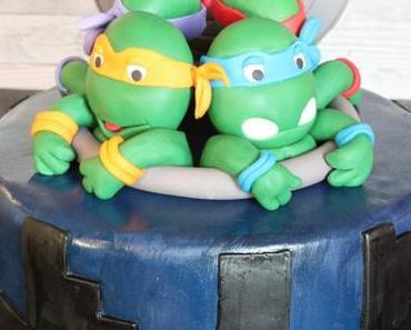 TMNT Ninja Turtles Torte