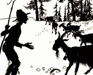 Die Ziege und der Ziegenhirt • Taten • Fabel von Aesop