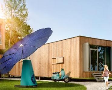 Smartflower – Solarblume erzeugt aus jedem Sonnenstrahl Strom
