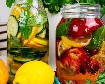Infused Water – Fruchtwasser Rezepte für den Sommer