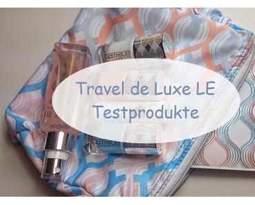 Catrice Travel de Luxe LE Testprodukte, Swatches + AMU ♥