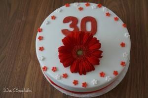 Eine Torte zum 30er