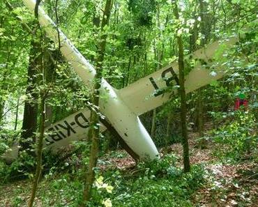 Flugzeugabsturz Hüllhorst  – Zwei Segelflugzeuge stürzen in Wiehengebirge ab