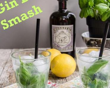 Mediterraner Cocktail für den Sommer 2015: Gin Basil Smash