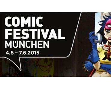 COMICS IN DER GANZEN STADT – DAS COMICFESTIVAL MÜNCHEN 2015