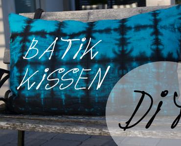DIY Batik-Kissen